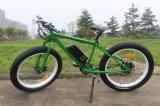 """2016流行の26 """"セリウムが付いている36V電気バイクの脂肪質のタイヤか脂肪質のタイヤ山Eのバイク"""
