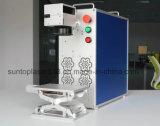 Máquina de impressão do laser da caixa do telefone móvel/máquina plástica da marcação do laser