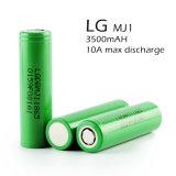batería de la tarifa 10A 18650 de la descarga de la batería 3.7V 3500mAh del Li-ion alta