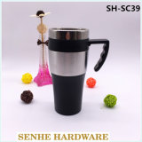 450ml Kaffeetasse-Edelstahl-Tee-Cup (SH-SC39)