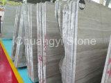 Mármore de madeira cinzento chinês para a parede e a telha de revestimento