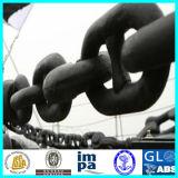 Grande corrente de escora usada do parafuso prisioneiro ligação marinha de aço