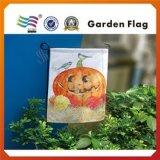 カスタマイズされたロゴの安い卸し売りHalloweenの庭のフラグは印刷した(HY09124)