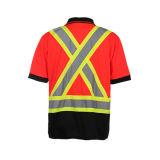 Alta maglietta CSA Z96-09 di sicurezza di visibilità