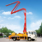 A8 40 M3/H Concrete Boom Pump Truck com Concrete Mixer para Construction