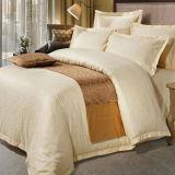 Beige satinado hoja de cama Terminado (DPH7746)