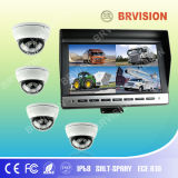 Mini Dome Camera를 가진 10.1inch Quad Veihcle Monitor System