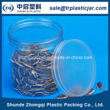 Transparent rotondo Pet Plastic Bottle per Food Packaging