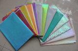 Farben-Seidenpapier, Verpackungs-Papier mit Firmenzeichen-Drucken