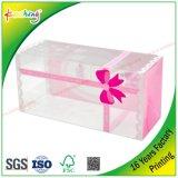 Contenitore di imballaggio cosmetico di plastica trasparente di APET/PVC/PP