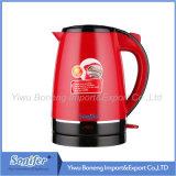 Sf-2391 2.0 L (rouge) bouilloire électrique de bac thermo électrique d'air d'acier inoxydable