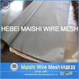 Fio de aço inoxidável, 316, SUS302, 304L, 304 materiais e tipo engranzamento do engranzamento de fio do Weave de fio do aço inoxidável