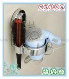 Multi-Fuction установленный стеной держатель фена для волос с чашкой всасывания