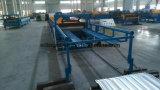 金属は機械を形作る台形屋根シートロールを波形を付けた