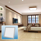Alta calidad IP44 multicolor impermeable plana cuadrados LED Panel de luz