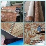 3mm рециркулированный внутри помещения настил PVC деревянный