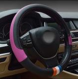 自動車部品のすべての車のための革ハンドルカバー