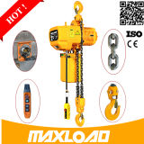 Maxload 0.5~35ton personalizado tipo grua Chain elétrica de 1 tonelada