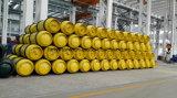 serbatoio saldato Basso-Centrale del gas dell'acciaio inossidabile 1000L per cloro, ammoniaca, gas di refrigerazione