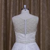 Платье венчания Tulle цены по прейскуранту завода-изготовителя 174 Китай Beaded безрукавный для Bridal