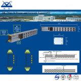 16 linhas protetor de impulso da potência e do sinal RJ45 do Internet