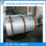 De professionele het Maken Tank van het Roestvrij staal met het Versterken van Rib