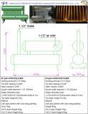 Inyector grande del saludo de la escopeta de aire comprimido