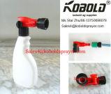 Arma de la espuma, rociador del extremo del manguito de jardín, 1L botella, 32oz, casquillo 28 410