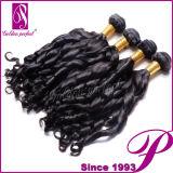 Extensions chinoises de cheveux de Remy de Vierge du Brésilien 100 de grossiste