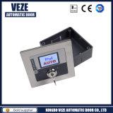 Interruptor chave do LCD da Cinco-Escala automática da porta deslizante