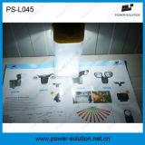 Bewegliche LED-angeschaltene Solarlampe, welche die 360 Grad-Solarlampe beleuchtet
