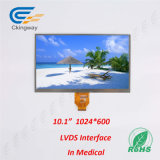 10.1インチのLvdsインターフェイス40 Pin TFT LCDスクリーン