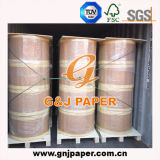 papel termal 45-80GSM en el rodillo grande para la posición