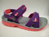Sandalias ocasionales del verano de la marca de fábrica de Italia con la impresión de la flor para las mujeres