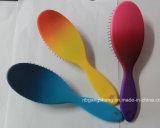 Brosse de mode de brosse de cheveux de couleur de gradient avec le coussin