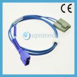 Sensore adulto della clip SpO2 della barretta di Nellcor Ds100A Oximax, 9pin, 0.9m