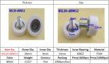 Rolamento de esferas revestido plástico 608zz da polia Bsl30-D8w12 para o indicador e o caixa
