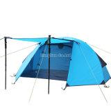 Hete het Kamperen van de Verkoop Tent, 1 Tent van de Persoon, Dubbele het Kamperen van de Laag Tent