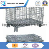 Het opvouwbare die Poeder bedekte de Container van het Netwerk van de Draad in China wordt gemaakt met een laag