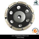 화강암을%s 5개 인치 125mm 터보 세그먼트 컵 회전 숫돌 또는 대리석 또는 콘크리트