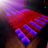 Verre LED Dance Floor du Miroir 3D