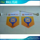An der Wand befestigte Markierungsfahne (M-NF14P03006) bekanntmachen