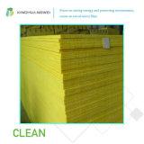Placa centrífuga das lãs de vidro do calor e de isolação térmica para o material de construção