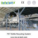 Botella del animal doméstico Tl3000 que recicla la línea lavadora de las escamas del plástico