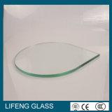 Освободите покрашенное форменный стекло Toughened безопасностью Tempered с Polished краем