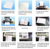 Papier de la carte A4 d'identification de PVC d'impression de jet d'encre