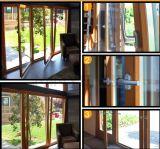 Porte bon marché de Chambre de bâti en aluminium à vendre avec la porte de spire d'inclinaison