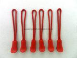 カスタム特別なデザイン緑脂肪PVCジッパーの引き手(SD-034)