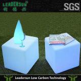 Кубик мебели освещения стула гостиницы ротанга СИД напольный (Ldx-C06)