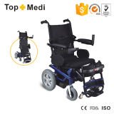 Topmedi Hot Sale High Back Reclining Standing su Electric Power Wheelchair